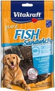 Vitakraft Hundesnack Fish Sandwich Kabeljau - 80 g