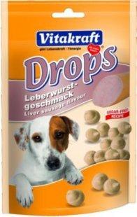 Vitakraft Hundesnack Drops mit Leberwurst-Geschmack - 200g