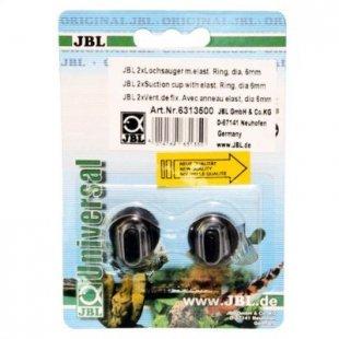 JBL Lochsauger 6 mm - 2 Stück - Saughalter