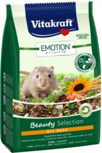 Vitakraft Emotion Beauty All Ages, Gerbil - 300g