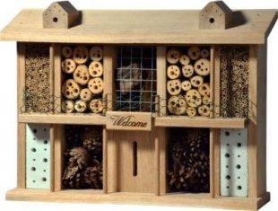 Luxus-Insektenhotels ´´Landsitz Superior´´ Eichenholz-Insektenhotel