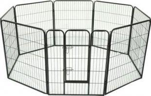 PawHut Freilaufgehege für Kaninchen, Welpen und Kleintiere