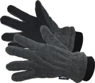 Fleece Handschuhe - grau