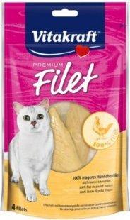 Vitakraft Katzenfutter Premium Filet Huhn - 70 g