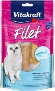 Vitakraft Katzenfutter Premium Filet Lachs - 54g