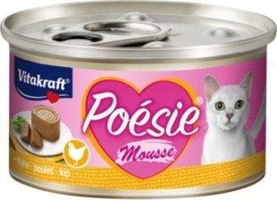 Vitakraft Katzenfutter Poesie Mousse, Huhn - 12 Dosen