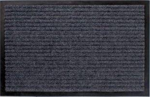 LEX Schmutzfangmatte ca. 60 x 90 cm Schwarz oder Grau/grau