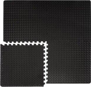 4 Bodenmatten je 63x63cm inkl. 8 Abschlussleisten Trainingsmatte