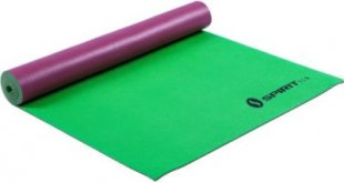 Spirit Yoga-Matte Leaf 175x61 Sportmatte Fitness Pilates Gymnastik Unterlage