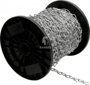 Knotenkette DIN 5686 Ø 2,2 mm Stahl verzinkt Meterware