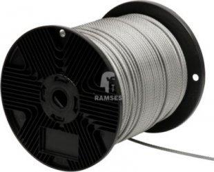 Stahldrahtseil Ø 2 mm Stahl verzinkt Meterware