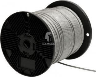 Stahldrahtseil Ø 4 mm Stahl verzinkt Meterware