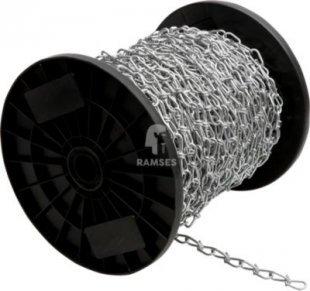 Knotenkette DIN 5686 Ø 2,8 mm Stahl verzinkt Meterware