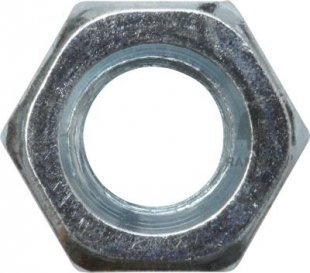 Sechskantmutter DIN 934 M3 Stahl verzinkt SW5.5 100 Stück