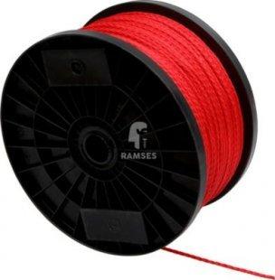 Polypropylen Seil DIN 83307 rot 3 mm Meterware