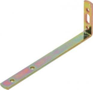 Gardinenwinkel 120 X 120 X 55 X 3,5 mm Stahl verzinkt 1 Stück