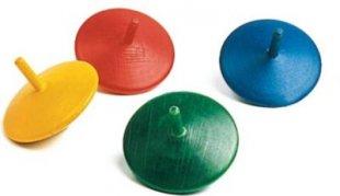 BestSaller 22433 Fingerkreisel 35mm (Farbe zufällig, 1 Stück)