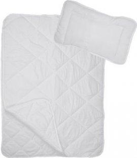 4-Jahreszeiten Kinder Bettdecke Mikrofaser Baby-Steppdecken Set, 100 x 135 cm mit Kopfkissen 40 x 60 cm