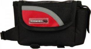 Fahrrad Tasche mit Handyfach für Montage am Rahmen rot