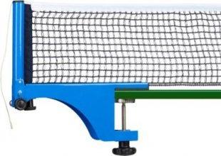 relaxdays Tischtennisnetz zum Schrauben