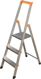 Krause Stufen-StehLeiter Solidy 3 Stufen