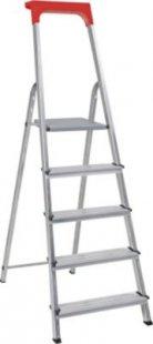 BRB Alu-Stufenleiter, 5 Stufen