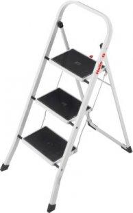 Hailo K20 Stahl-Klapptritt - 3 Stahl-Stufen