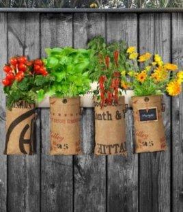 Mini-Garten Aufhängeleiste,1 Stück