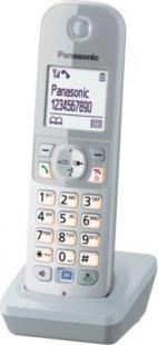 Panasonic Mobilteil KX-TG68xx Serie inkl. Ladeschale silber