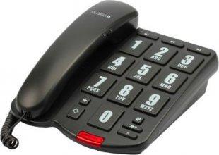 OLYMPIA 4205 Großtasten Komforttelefon Seniorentelefon mit visueller Rufanzeige