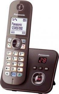 Panasonic KX-TG6821GA mocca-braun mit AB