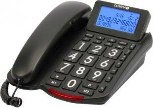 OLYMPIA 4210 Großtasten Komforttelefon mit großem Display beleuchtet