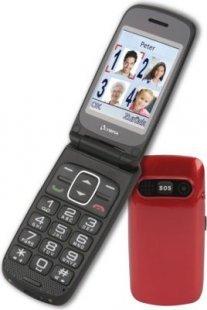 OLYMPIA Primus Senioren Komfort Mobiltelefon, große Tasten, Rot