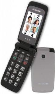 OLYMPIA Classic 2207 Komfort-Mobiltelefon, große Tasten,silber