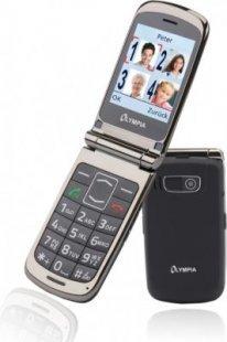 OLYMPIA Style Plus Senioren Komfort Mobiltelefon mit Großtasten, Schwarz