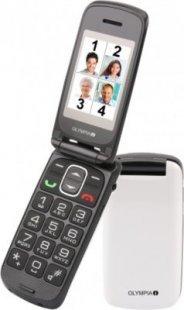 Senioren Großtasten Handy Olympia Classic Premium in Weiß