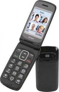 OLYMPIA Primus Senioren Komfort Mobiltelefon, große Tasten, Anthrazit