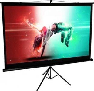 VCM Mobile HDTV Stativ Beamer Projektor Leinwand Ständer 4:3 / 16:9 Rolloleinwand tragbar