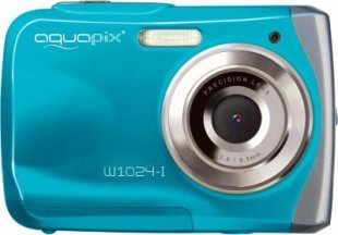 easypix W1024-I Splash Digitalkamera - eisblau