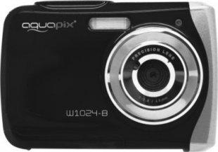 Aquapix W1024-R Splash Unterwasserkamera - schwarz