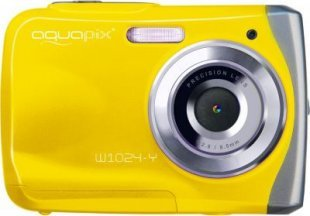 easypix W1024-Y Splash Digitalkamera - gelb