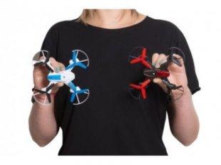 GoClever Drohnenset mit 2 Drohnen und Fernbedienungen Drohne Sky Fighters Kampfdrohnen