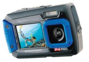 easypix W1400 Active Digitalkamera - blau