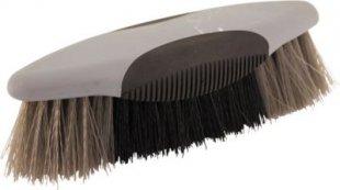 ELDORADO Mähnenbürste SOFTTOUCH - grau/schwarz