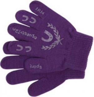PFIFF Handschuh für Kinder mit Print - lila/flieder