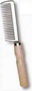 ELDORADO Mähnenkamm mit Holzgriff - holz/metall