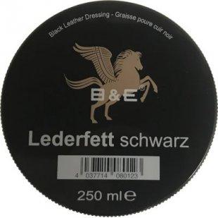 B & E Lederfett schwarz - 250 ml
