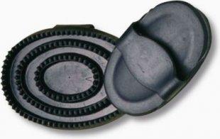 ELDORADO Gummistriegel schwarz - mini