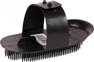 ELDORADO Nadelstriegel mini - schwarz
