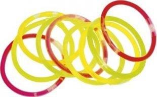 EDUPLAY 130-101 Knicklichter Leuchtstäbe, 20cm lang (Farbe zufällig, 15 Stück)